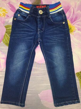 Продам джинсы на 1.5-2.5 годика, в идеальном состоянии.