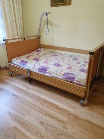 Łóżko rehabilitacyjne 120cm x 200cm z materacem.
