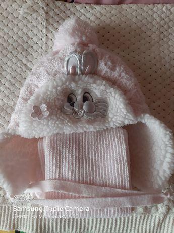 Шапочки зимові для дівчат