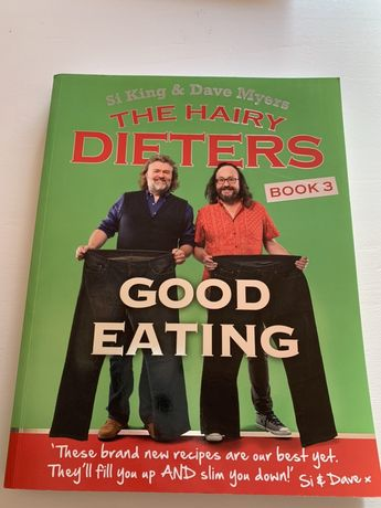 Livro novo Hairy Bikers - Good eating