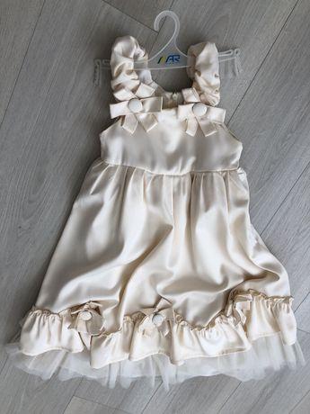 Платье на девочку 4-7 лет. Выпускное платье.  Праздничное платье