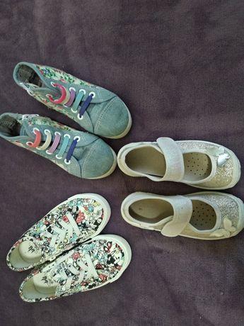 Мокасины тапочки туфельки кеды