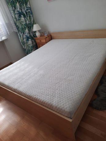 Sprzedam łóżko sypialniane stelaż + materac