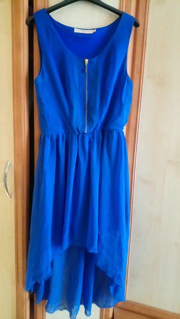 Niebieska suknienka S/M