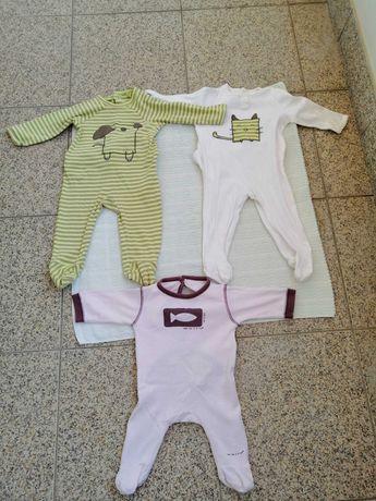 Babygrows para bebé dos 0 aos 9 meses