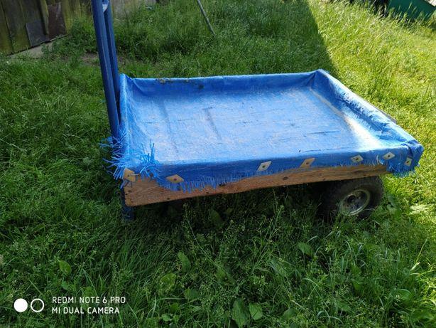 Wózek magazynowy i ogrodowy 3w1 300kg max obciążenia Polecam