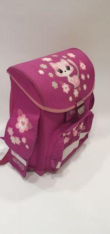 Plecak szkolny tornister Herlitz kotek stan b.d różowy