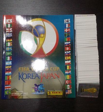 Mundial 2002 - Korea/Japan - Panini - Coleção completa