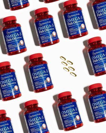 Puritans pride Omega 3 1000 mg, 100 softgels
