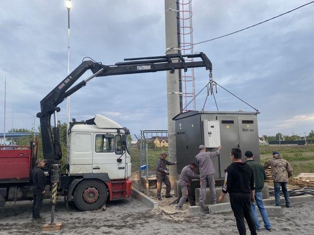 Маніпулятор до 20 тонн самосвал ПДВ