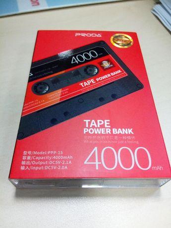 Power Bank Bateria 4000mAh kaseta classic