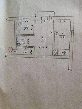 Продаётся 2-х комнатная квартира Красный Лиман