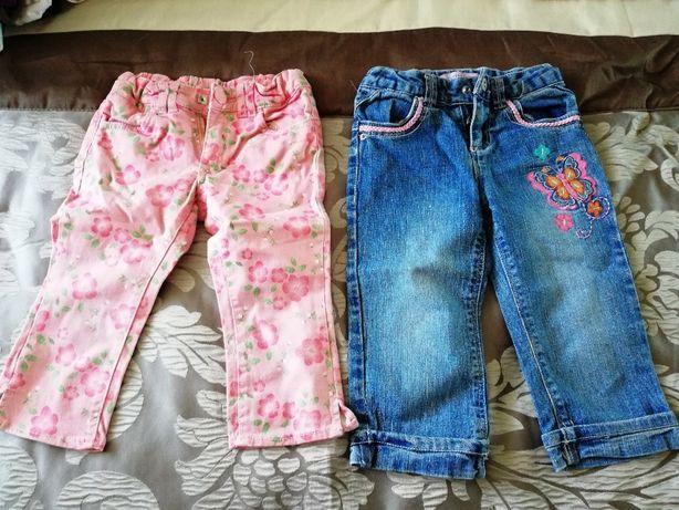 Spodnie dziewczęce 2-3latka!!!