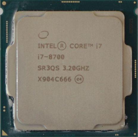 Процессор i7 8700 3.2GHz 12Mb Intel Core 1151 SR3QS | Гарантия 1 Год