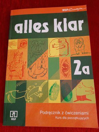 Alles Klar 2a. Podręcznik do niemieckiego