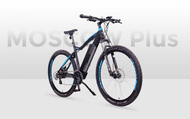 NCM Moscow Plus Bicicleta elétrica de Cross-Country 48V 16Ah, 768Wh