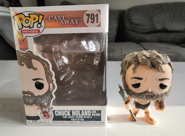 Figurka Funko POP! Cast Away - Chuck Noland and Wilson 791