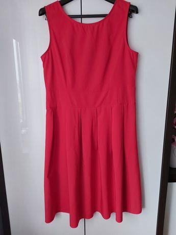Czerwona sukienka xl