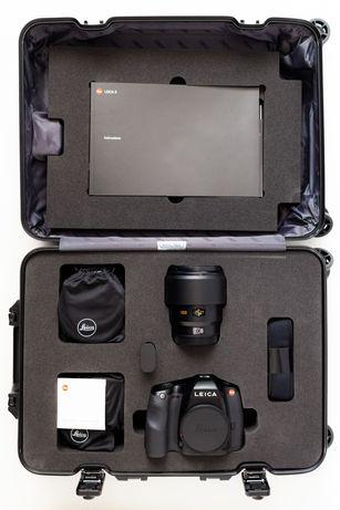 Kit Leica S + Summicron-S 100mm f/2 ASPH Edição Especial 100 unidades