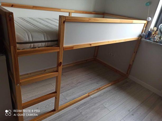 Łóżko piętrowe KURA IKEA