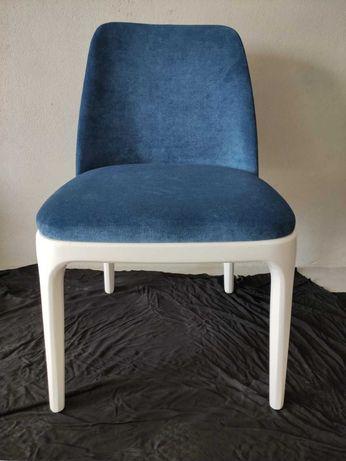 4 Cadeira Madeira Lacado Branco e 2 Cadeirões