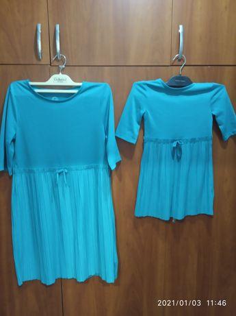 Платье, мама и дочь, или две сестры