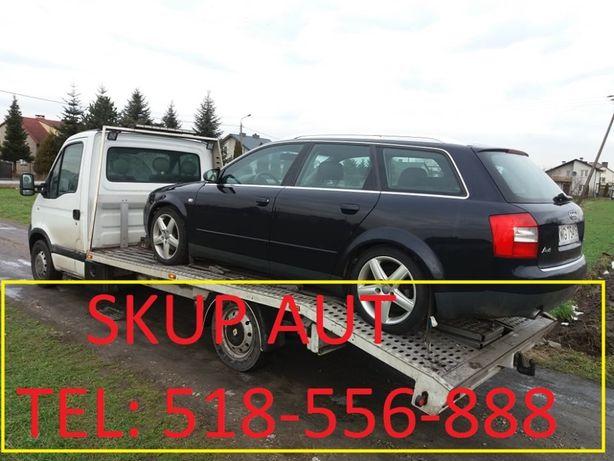 Skup Aut - Kasacja pojazdów - Grabów nad Pilicą , Głowaczów , Brzóza