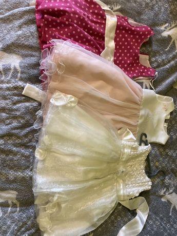 Нарядные, пышные платья для девочки 3 года 98 см