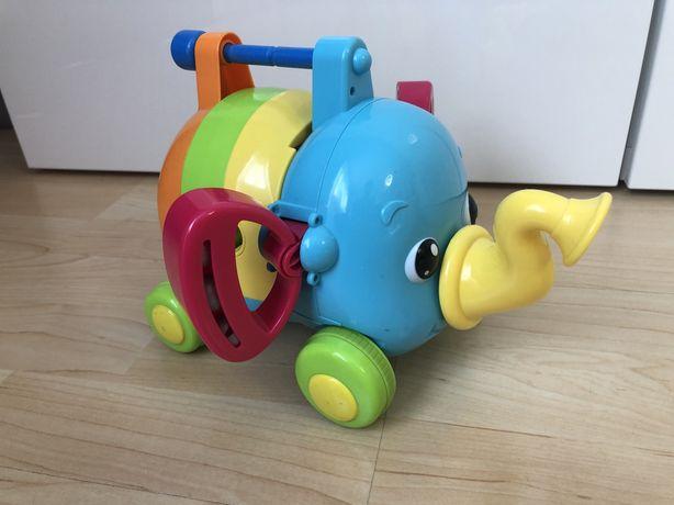 Tomy слоненок оркестр погремушка слон конструктор