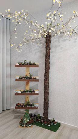 Árvore artificial para decoração