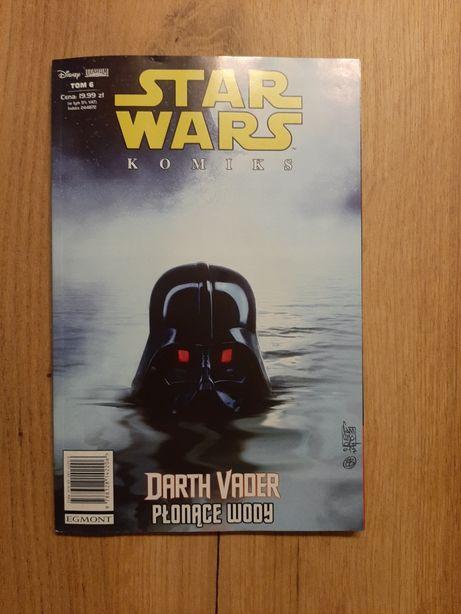 Komiks STAR WARS Darth Vader Płonące wody 6/19