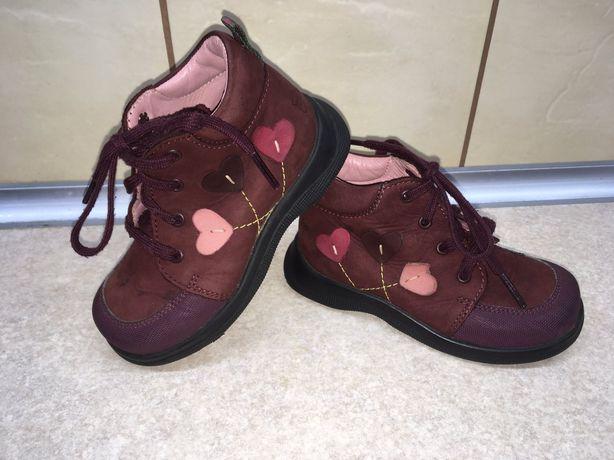 Демісезонні черевики 15 см.