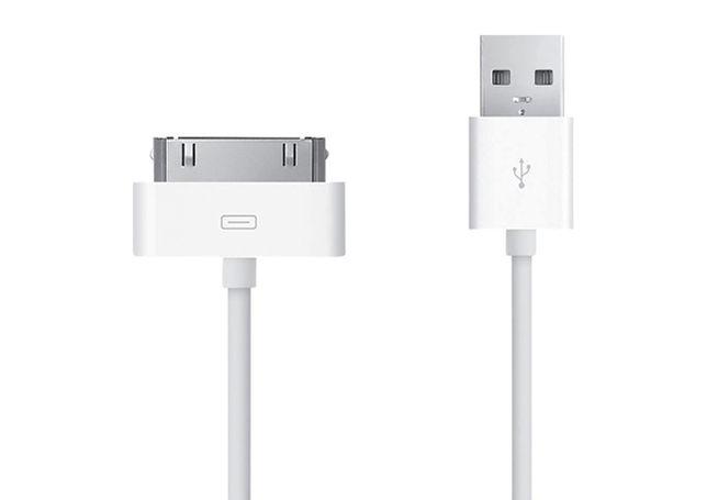 NOVO - Cabo USB iPhone / iPad - 30 Pinos