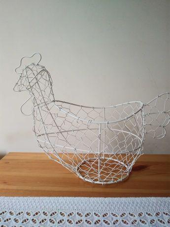 Rezerwacja Druciany koszyk kura przechowywanie jajek