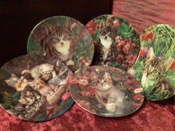 Коллекционные тарелки «Кошечки»