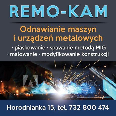 REMO-KAM Odnawianie maszyn i urządzeń metalowych