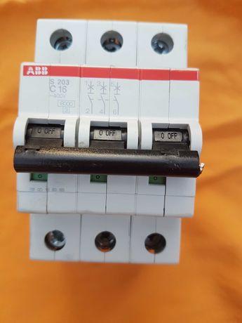 Автоматичний вимикач ABB S203 C16 новий