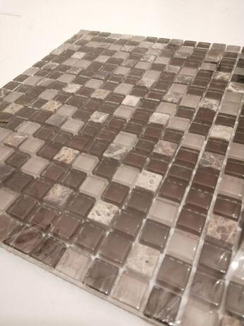 Mozaika płytka szklana dekoracyjna glazura 30 x 30 8 sztuk ALTTOGLASS