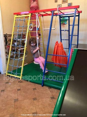 Игровая площадка, детская горка, качели, детский спортивный комплекс