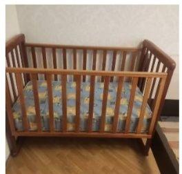 Кроватка Верес + матрас для малышей