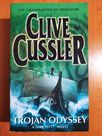 """Книга англійською Clive Cussler """"Trojan odyssey"""" Клайв Касслер"""