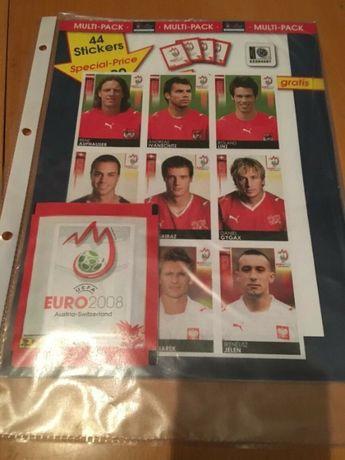 Euro 2008 da Panini - Pack Selado com 7 saquetas + 9 cromos