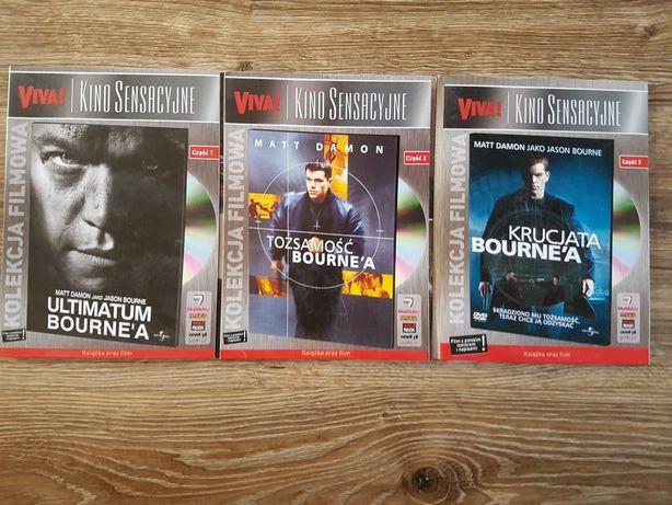 Krucjata Bourne'a,Ultimatum Bourne'a,Tożsamość Bourne'a
