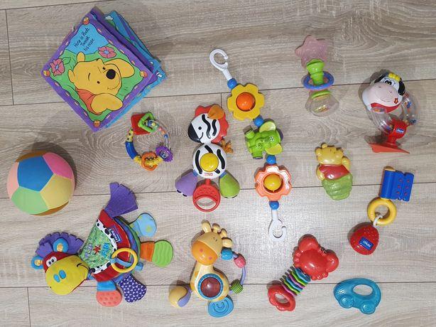Zestaw zabawek niemowlęcych 13 szt