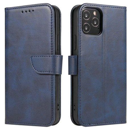 Capa Magnética Case Elegant Bookcase Type Case Kickstand Xiaomi Poco X3 Nfc / Poco X3 Pro Azul