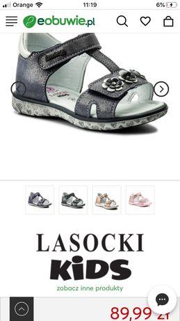 Nowe sandałki Lasocki Kids rozm 23