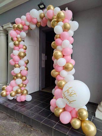 Wykonanie dekoracji z balonów