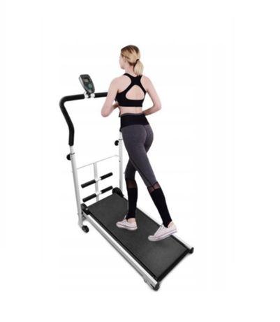 Bieżnia fitness maszyna cardio trening mechaniczna nowa!