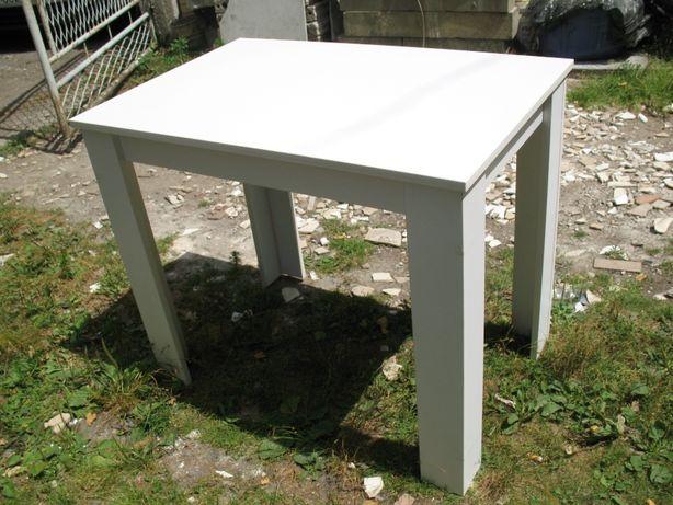 Stół biały 100 x 60 x 75