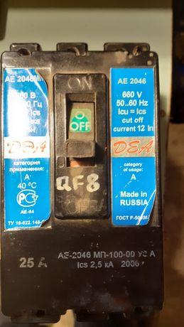 Автомат 3- фазный АЕ2046МП,новый в работе не был.
